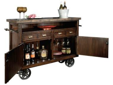 Howard Miller Barrows Rustic Hardwood Wine & Bar Cabinet HOW695146