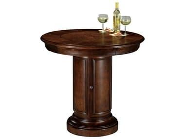 Howard Miller Ithaca Hampton Cherry 39'' Round Pub & Game Table HOW699010
