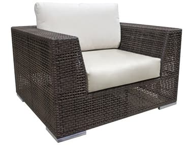 Hospitality Rattan Outdoor Soho Wicker Lounge Chair HP9031323JBPC