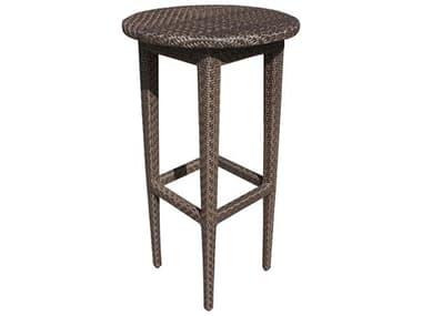 Hospitality Rattan Outdoor Soho Wicker 24 Round Table Woven Pub Table HP9036185JBP