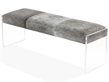 Interlude Home Light Natural/ Clear Accent Bench IL179041