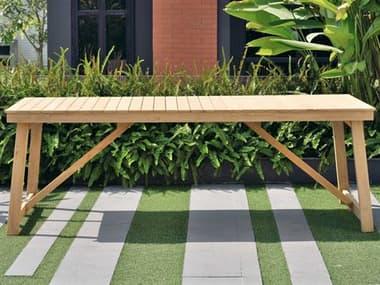International Home Miami Amazonia Klaire Wood Rectangular Dining Table IMSCKLARIONRECT