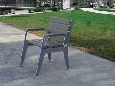 Frog Furnishings Steel 24'' Plaza Chair JHPB24PLZCHR
