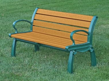 Frog Furnishings Heritage Cast Aluminum 4 ft. Bench JHPB4HER
