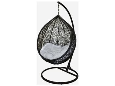 Schnupp Patio Egg Wicker Swing Chair with Stand JV37