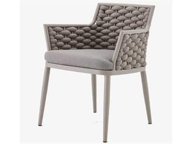 Schnupp Patio Palma Aluminum Dining Arm Chair JV70DC