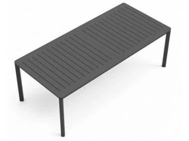Schnupp Patio Palma Aluminum Extendable 82-110''W x 39''D Rectangular Dining Table JV70ET