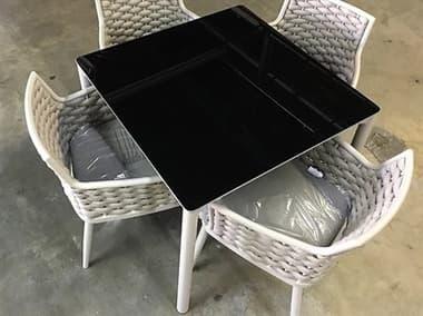 Schnupp Patio Palma Aluminum 35'' Wide Square Dining Table JV70S35
