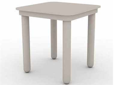 Schnupp Patio Palma Aluminum 18'' Wide Square End Table JV70ST