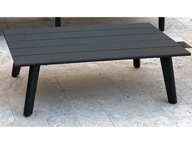 Schnupp Patio Caicos Aluminum 47''W x 27''D Rectangular Coffee Table JV74CT