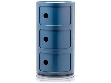 Kartell Outdoor Componibili Blue Storage Rack KAO496715