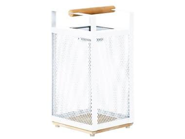 Kettler Shine Aluminum White LED Solar Lantern KR1482225K1