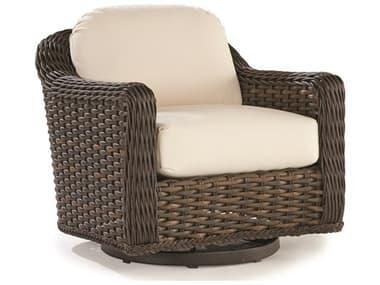 Lane Venture South Hampton Wicker Swivel Glider Lounge Chair LAV79086