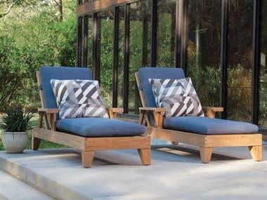 Lane Venture Saranac Teak Lounge Set LAVSRNACLNGSET2