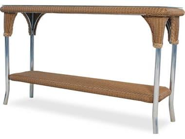 Lloyd Flanders Dining & Accessory Wicker 52W x 19''D Rectangular Console Table LF86149