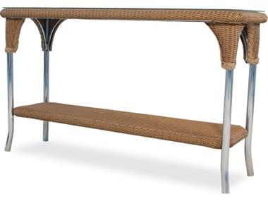 Lloyd Flanders Dining & Accessory Wicker 52''W x 19''D Rectangular Console Table LF86249