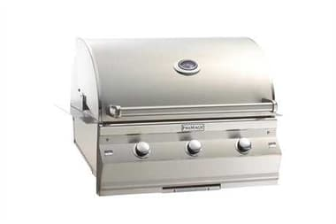 Fire Magic Choice Stainless Steel 30'' C540 Built-in Analog Patio BBQ Grill MGC540I1T1N