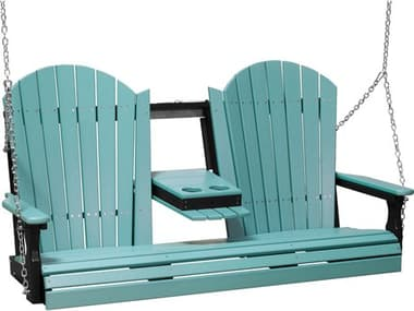 LuxCraft Recycled Plastic 5' Adirondack Swing LUX5APS