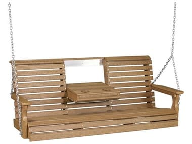 LuxCraft Recycled Plastic 5' Plain Swing LUX5PPS
