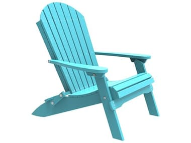 LuxCraft Recycled Plastic Folding Adirondack Chair LUXPFAC