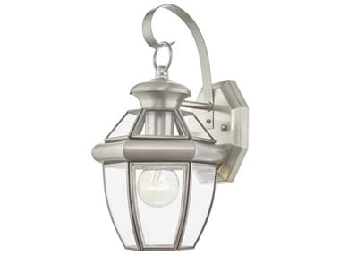 Livex Lighting Monterey Brushed Nickel Outdoor Wall Light LV205191