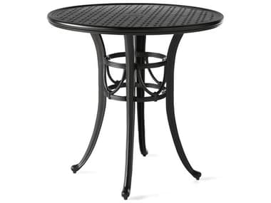 Mallin Napa 9000 Series Cast Aluminum 36'' Wide Round Counter Height Table with Umbrella Hole MAL9D036U