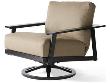 Mallin Dakoda Cushion Aluminum Swivel Rocking Lounge Chair MALDK486