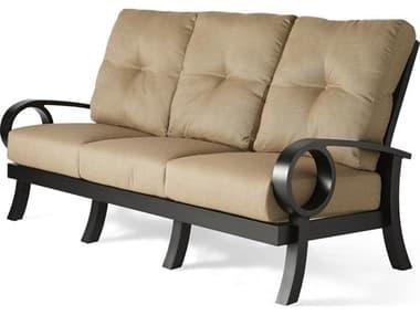 Mallin Eclipse Cast Aluminum Cushion Sofa MALEP481