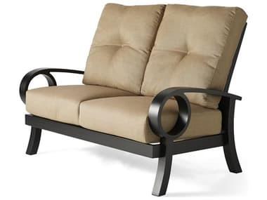 Mallin Eclipse Cast Aluminum Cushion Loveseat MALEP482