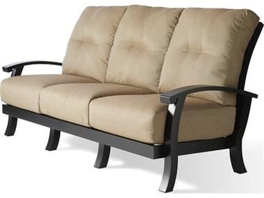 Mallin Georgetown Cushion Aluminum Sofa MALGT481
