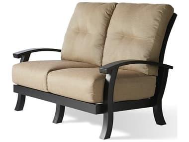 Mallin Georgetown Cushion Aluminum Loveseat MALGT482