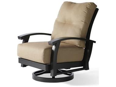 Mallin Georgetown Cushion Aluminum Swivel Rocking Lounge Chair MALGT486