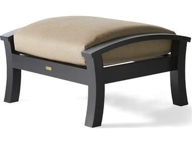 Mallin Georgetown Cushion Aluminum Ottoman MALGT488
