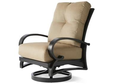 Mallin Salisbury Cast Aluminum Swivel Rocker Lounge Chair MALSS486