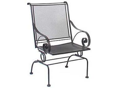 Meadowcraft Monticello Wrought Iron Spring Dining Arm Chair  MD278170002