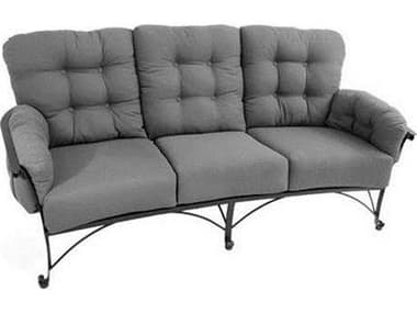 Meadowcraft Vinings Deep Seating Wrought Iron Sofa MD285100001