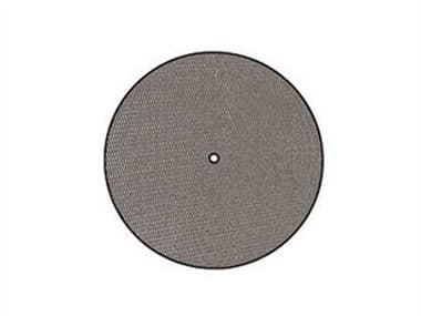 Meadowcraft Mesh Wrought Iron 48'' Wide Round Table Top with Umbrella Hole MD664899001