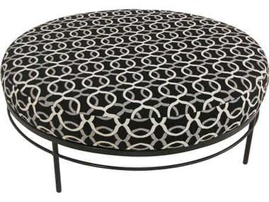 Meadowcraft Cove Wrought Iron 42'' Ottoman MD314238001