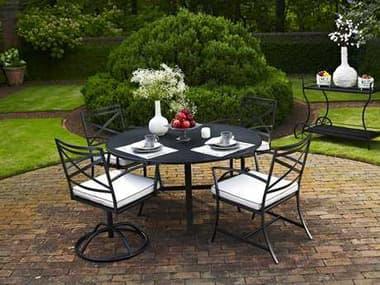 Meadowcraft Maddux Wrought Iron Dining Set MDMADDUXDIN2