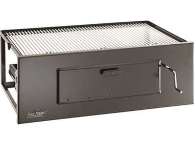 Fire Magic Charcoal Stainless Steel Lift-A-Fire 30'' Built-in BBQ Grill MG3334