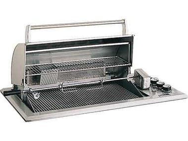 Fire Magic Legacy Stainless Steel Regal 30'' Built-in Counter Top BBQ Grill with Rotisserie Backburner MG34S2S1NA