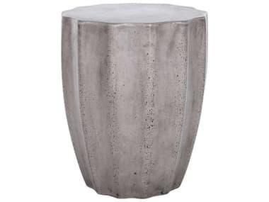 Moe's Home Outdoor Dark Grey Concrete Dining Chair MHOBQ100625