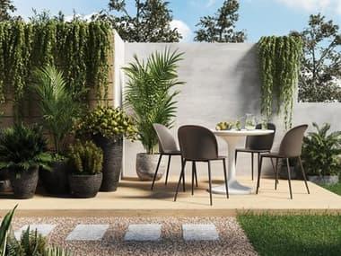 Moe's Home Outdoor Concrete Dining Set MHOJK100429SET