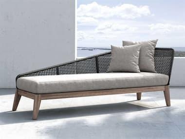 Modloft Outdoor Netta Feather Gray Cushion Left Chaise Lounge MLODEPXDYLADLTEGRA