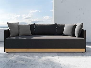 Modloft Outdoor Clifton Peppercorn Cushion Sofa MLODEROO170GC021