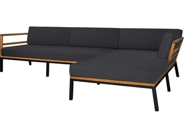 Mamagreen Zudu Aluminum Steel Teak Cushion Sofa MMGMG15008L