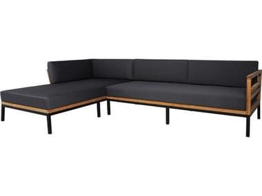 Mamagreen Zudu Aluminum Steel Teak Cushion Sofa MMGMG15008R