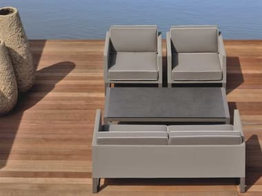 Mamagreen Mono Aluminum Cushion Lounge Set MMGMG5234SET3