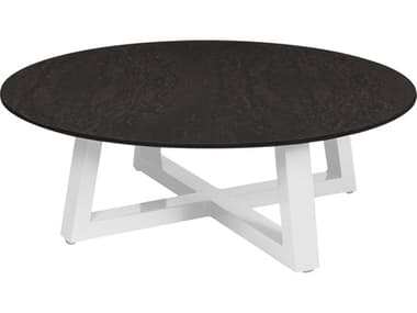 Mamagreen Mono Aluminum 43'' Wide Round Chat Table MMGMG5295