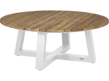 Mamagreen Mono Aluminum 43'' Wide Round Chat Table MMGMG5300